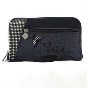 ACC-029-NOI, Wallet Purse, Noir  /  Black