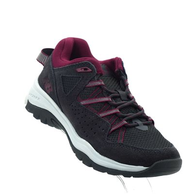 New Balance, WW669LK2, Gris  /  Rouge