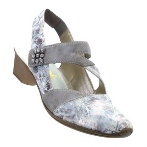 Rieker, 49787-90, grau-metallic /  grey